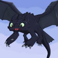 Fan Friday - Toothless by KahunaBlair