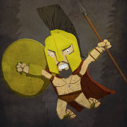 Super Saturday - King Leonidas by KahunaBlair