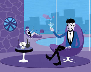 Dr. Strange Meets Shag by KahunaBlair
