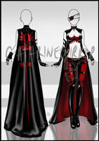 (CLOSED) Adopt Auction - Outfit 3 by cathrine6mirror