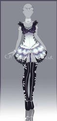 (CLOSED) Adopt Auction - Outfit 27 by cathrine6mirror