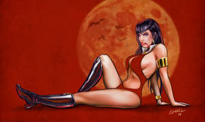 Vampirella by ismaelArt