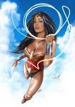 Wonderwoman by ismaelArt