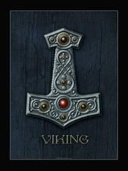 Thor's Hammer X by Vegvisir