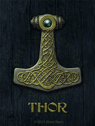 Thor's Hammer V by Vegvisir