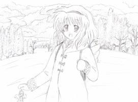 Ayu Tsukimiya by Fecius