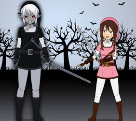 I meeting Dark Link by PrincesseArtemis