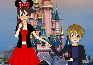 Wedding proposal at Disneyland by PrincesseArtemis