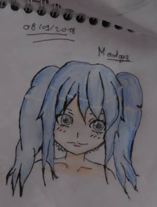 One of my drawing by PrincesseArtemis