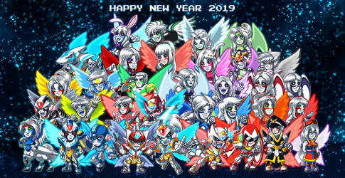 New Year Divine Group pic 2019 by samusmmx