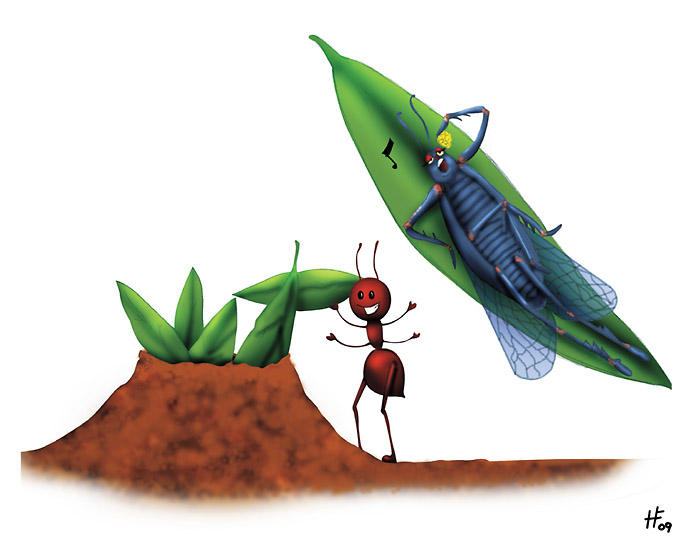 the ant and the cicada
