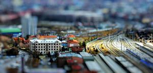 Ankara Fake Tilt-Shift by cheyrek