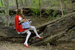 Litte red riding hood #01 by archman2000