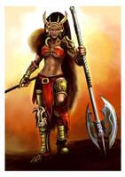 Barbarian Queen by gildeneye