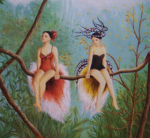 Birds of Paradise by IreneShpak
