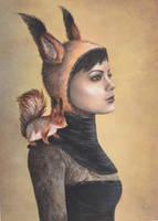 Squirrel Girl by IreneShpak