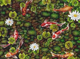 Koi Pond by IreneShpak