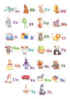 Toy Alphabet by IreneShpak