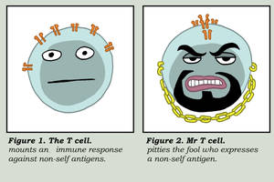 Mr T cell by Velica