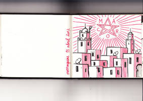 notebook 3 marrakech by Velica