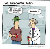 Lab Halloween Party by Velica