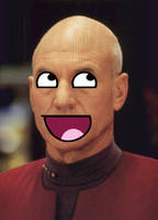 Awesome Picard by boomheadshot135