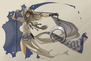 Desert Monk by Vhu