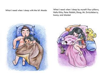 How I Sleep by sandibeans