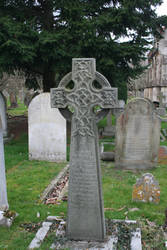 Old celtic cross grave by IRAtheIV