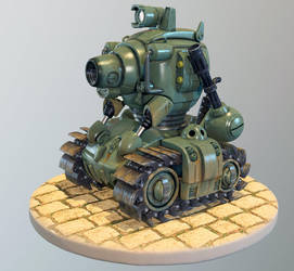 Metal Slug Tank by MixJoe