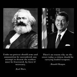 Marx was Pro Gun, Regan was Pro Gun Control by ghostraptor1917