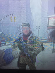 Me in the division  by ghostraptor1917