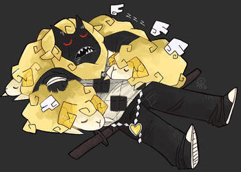 Sheepin' Sleep by FreakishlY-BluE