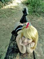 Lucy heartfilia Fairy Tail - little fairy by xRika89x