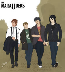 The Marauders by luanklebers