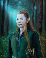 Daughter of the forest by thire-sia
