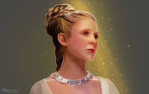 Leia Organa by thire-sia