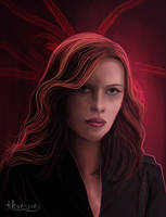 Black Widow by thire-sia