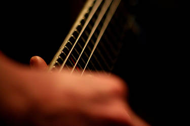 Guitar strings by chrisschoeck