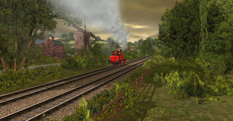 ''Just like Thomas.'' by OkamiTakahashi