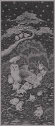 Puffy Owls by socar