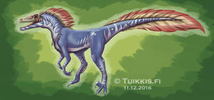 Skull Raptor by CPT-Elizaye