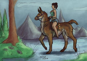 Get your free llama! by CPT-Elizaye