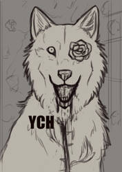 YCH Canine Rosegarden [Closed] by CPT-Elizaye