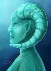 Aqua Lady by CPT-Elizaye