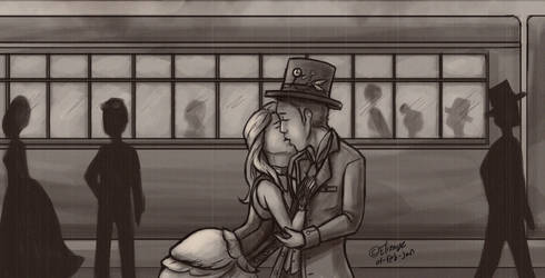 Train Station by CPT-Elizaye