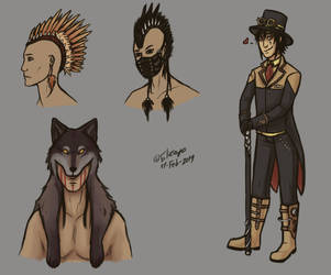 Mohawks and Steampunk by CPT-Elizaye