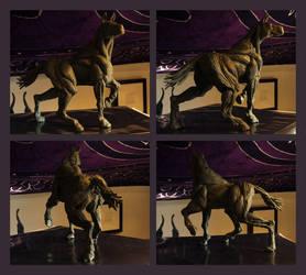 Horse Ecorche Study by CrazyChucky
