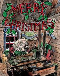 Santa's Workshop by CrazyChucky