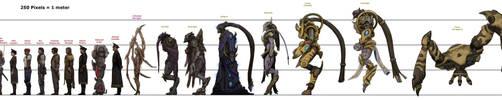 Brood War Heroes (Old) by xiaorobear